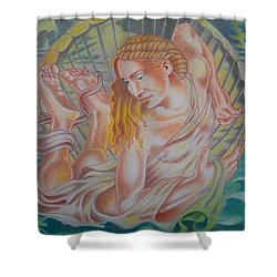 Ortus Veneris  Shower Curtain