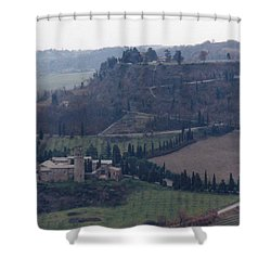 Orveito Italy Shower Curtain by Marna Edwards Flavell