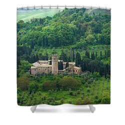 Orvieto Castle Shower Curtain
