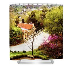 Osark Mountain Easter Shower Curtain