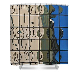 Osborn Reflections Shower Curtain
