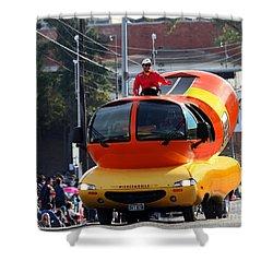 Oscar Mayer Wienermobile Shower Curtain