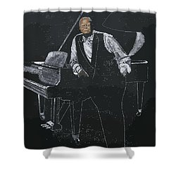 Oscar Peterson Shower Curtain