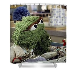 Oscar The Grouch Shower Curtain
