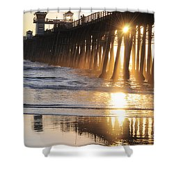 O'side Pier Shower Curtain