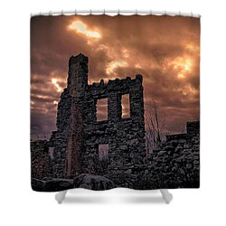 Osler Castle Shower Curtain