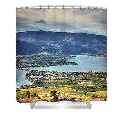 Osoyoos Lake 2 Shower Curtain by Tara Turner