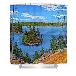 Osprey Island Shower Curtain