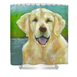 Ossie Shower Curtain by Frances Marino