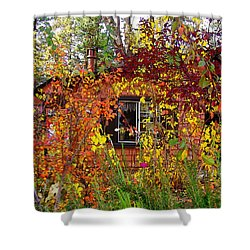 Shower Curtain featuring the photograph Other Side Of The Leaves by Glenn McCarthy Art and Photography