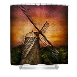 Other - Windmill Shower Curtain by Mike Savad
