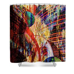 Other Wordly Shower Curtain by Robert Ball