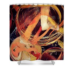 Other Worlds II Shower Curtain
