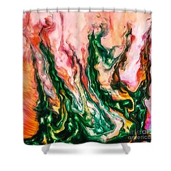 Otherworld  Shower Curtain