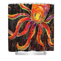 Otis The Octopus Shower Curtain