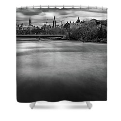 Ottawa Spring Flood Shower Curtain