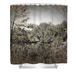 Otter Creek  Shower Curtain