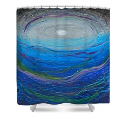 Our Freindship Runs Deep Shower Curtain by Ania M Milo