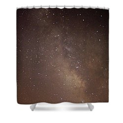 Our Galaxy I Shower Curtain by Carolina Liechtenstein