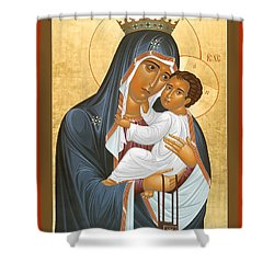 Our Lady Of Mount Carmel - Rlolc Shower Curtain