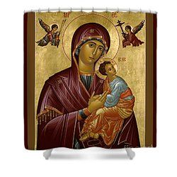 Our Lady Of Perpetual Help - Rloph Shower Curtain