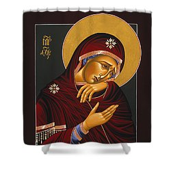 Our Lady Of Sorrows 028 Shower Curtain