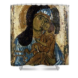 Our Lady Of Tenderness Shower Curtain by Granger
