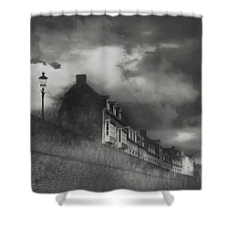 Our Lady Wall Maastricht Shower Curtain by Nop Briex