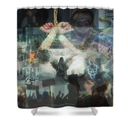 Our Monetary System  Shower Curtain by Eskemida Pictures
