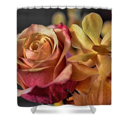 Shower Curtain featuring the photograph Our Passion by Diana Mary Sharpton