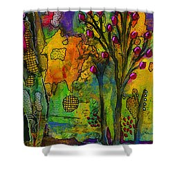 Our Secret Place Shower Curtain by Angela L Walker