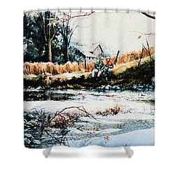Our Special Place Shower Curtain by Hanne Lore Koehler