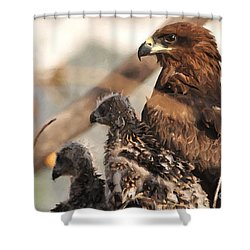 Our World Is Beautiful Mom  Shower Curtain