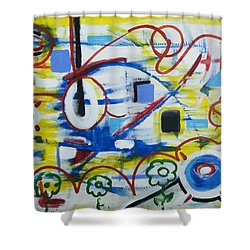 Our World Shower Curtain by Jose Rojas