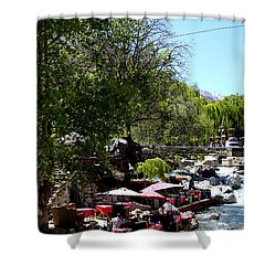 Shower Curtain featuring the photograph Ourika Valley 1 by Andrew Fare