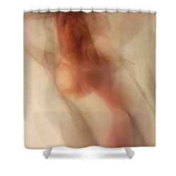 Shower Curtain featuring the photograph Out From The Mist by Joe Kozlowski