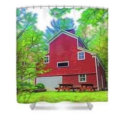 Out In The Country Shower Curtain
