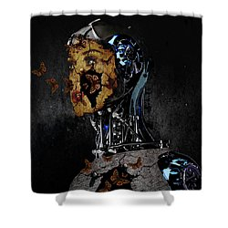 Out Of Captivity Shower Curtain