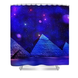 Out Of Eternity Shower Curtain