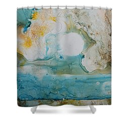 Out Of Nothing Shower Curtain
