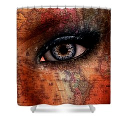 Out Of The Country Shower Curtain