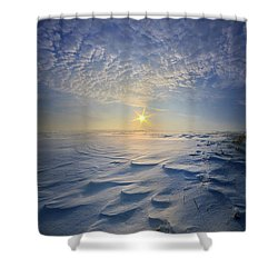 Shower Curtain featuring the photograph Out Of The East by Phil Koch