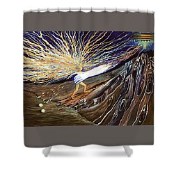 Out Of The Miry Clay 2 Shower Curtain