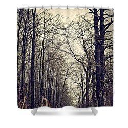 Out Of The Soil - Into The Forest Shower Curtain