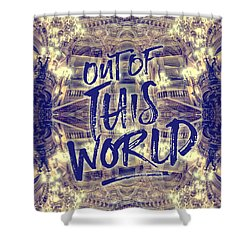 Out Of This World Opera Garnier Paris France Shower Curtain