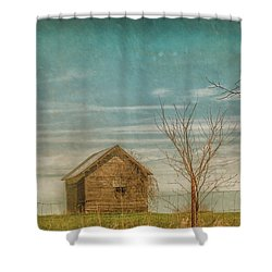 Out On The Farm Shower Curtain by Pamela Williams