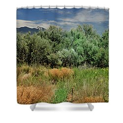 Out On The Mesa 1 Shower Curtain
