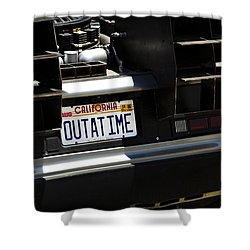 Outatime Shower Curtain