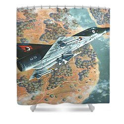 Outback Mirage Shower Curtain