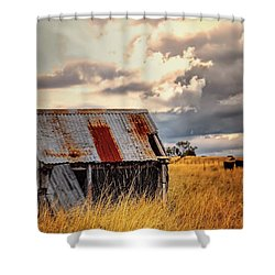 Outback Shed Shower Curtain by Wallaroo Images